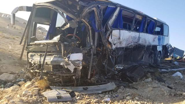 Desert Highway collision leaves 40 injured - Jordan Vista